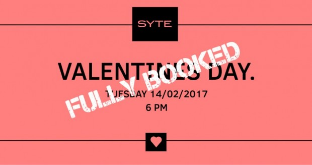 Valentines Day - FULLY BOOKED